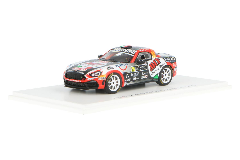 Abarth 124 Rally RGT - Modelauto schaal 1:43
