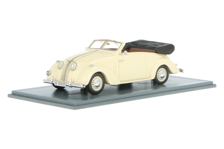 Adler 2.5L Convertible - Modelauto schaal 1:43