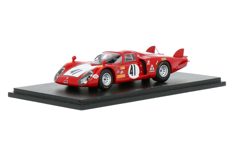 Alfa Romeo 33/2 - Modelauto schaal 1:43