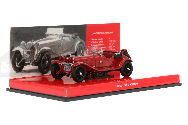 Alfa Romeo 6C 1750 G.S. - Modelauto schaal 1:43