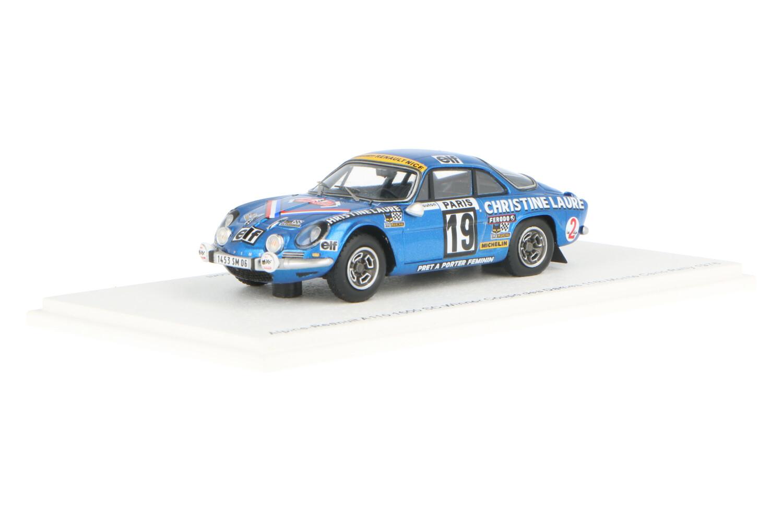 Alpine Renault A110 1800 - Modelauto schaal 1:43