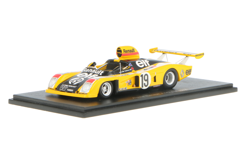 Renault Alpine A442 - Modelauto schaal 1:43