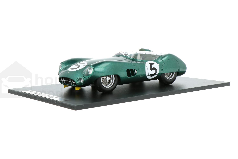 Aston Martin DBR1 - Modelauto schaal 1:18