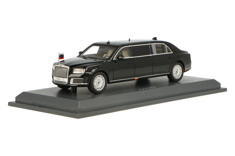 Aurus Senat Vladimir Putin's Car - Modelauto schaal 1:43