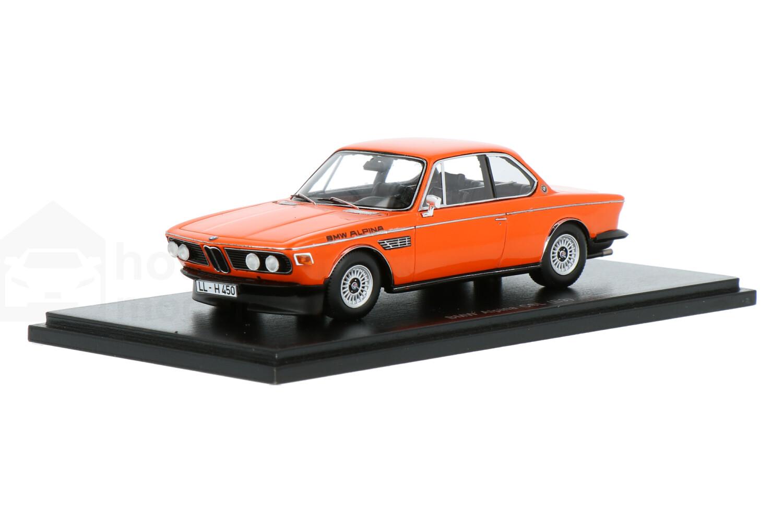 BMW CSL (E9) Alpina - Modelauto schaal 1:43