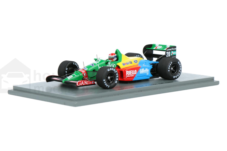 Benetton B188 - Modelauto schaal 1:43