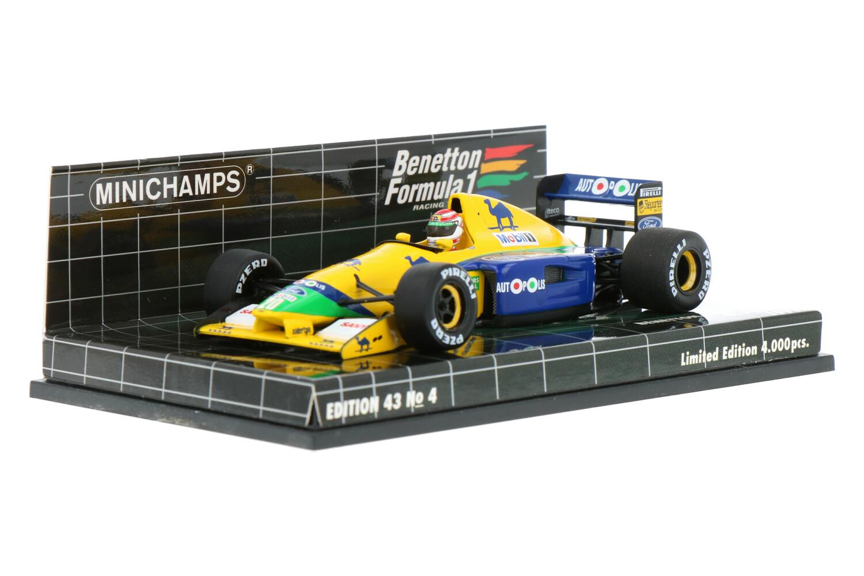 Benetton B191 - Modelauto schaal 1:43