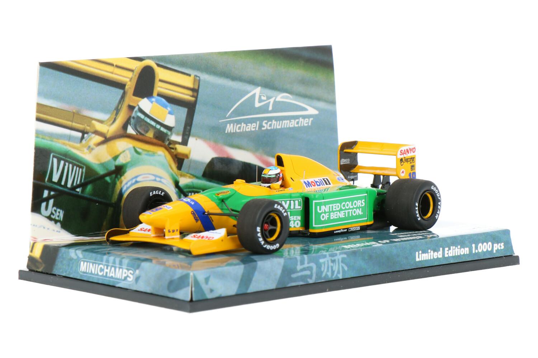 Benetton B192 - Modelauto schaal 1:43