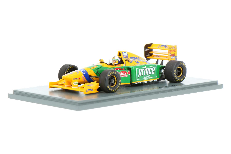 Benetton B193B - Modelauto schaal 1:43