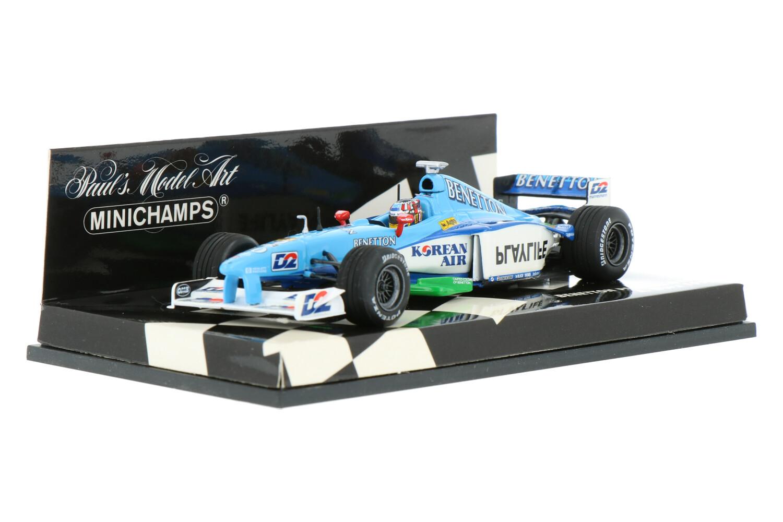 Benetton B199 - Modelauto schaal 1:43