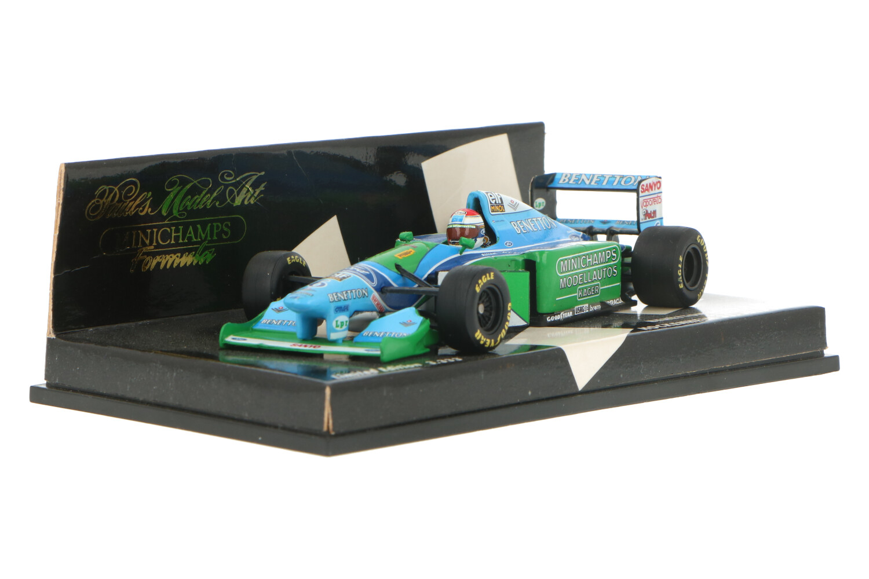 Benetton Ford B194 - Modelauto schaal 1:43
