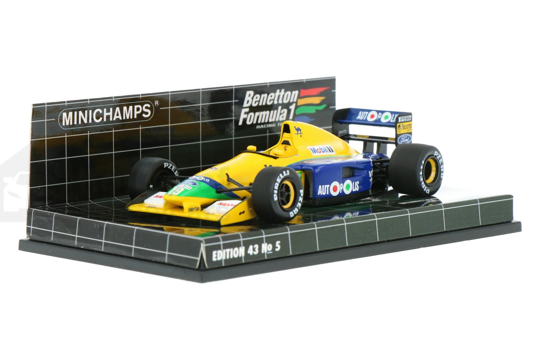 Benetton B191 Ford - Modelauto schaal 1:43