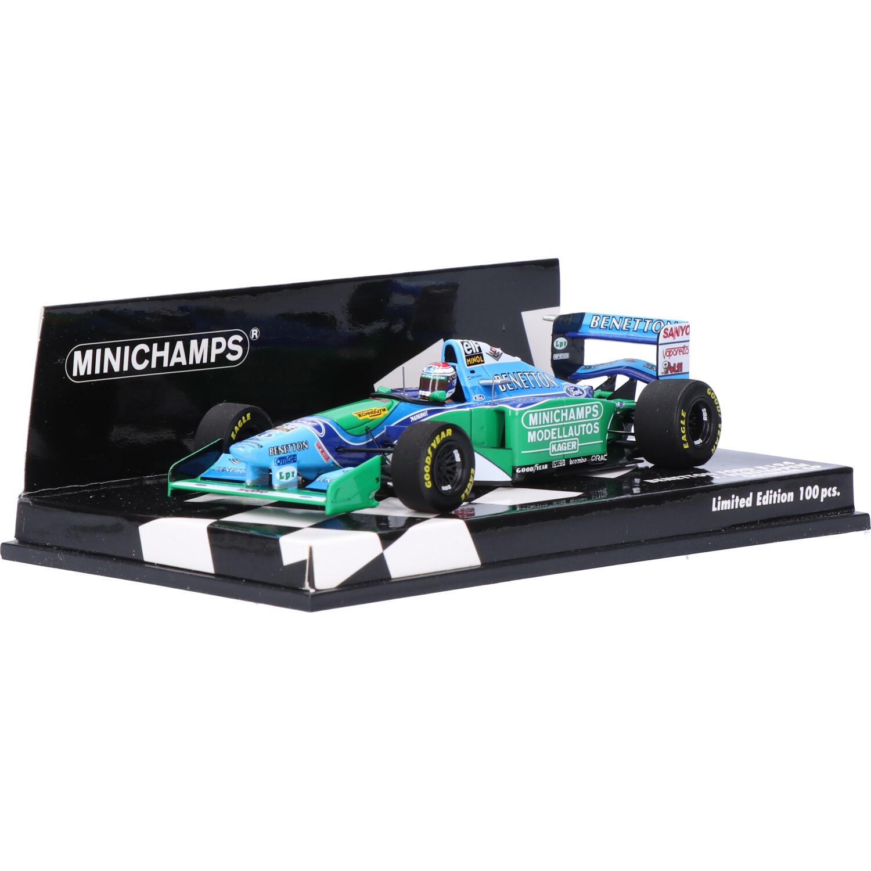 Benetton B194 - Modelauto schaal 1:43