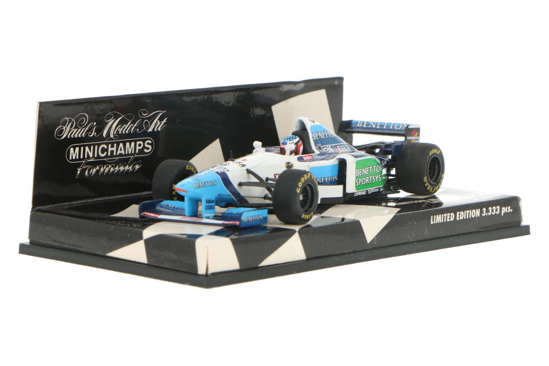 Benetton Launch Version - Modelauto schaal 1:43