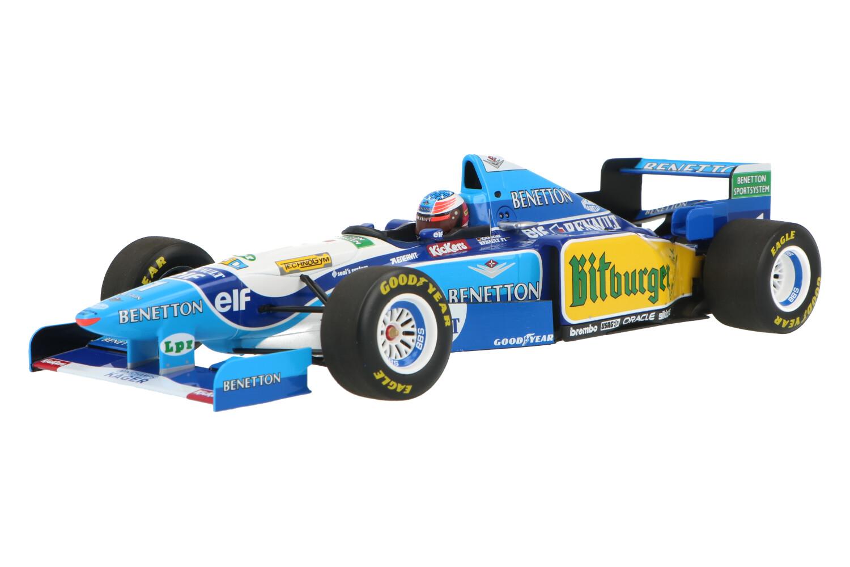 Benetton B195  - Modelauto schaal 1:18