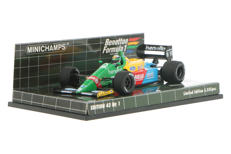 Benetton Ford B188 - Modelauto schaal 1:43