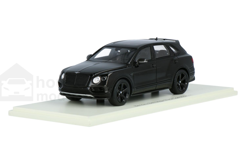 Bentley Bentayga Black Specification - Modelauto schaal 1:43
