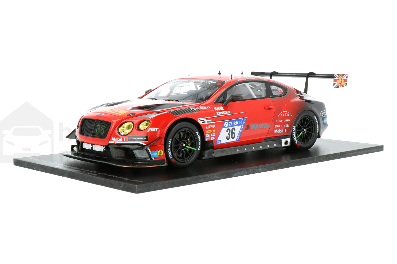 Bentley Continental GT3 - Modelauto schaal 1:18