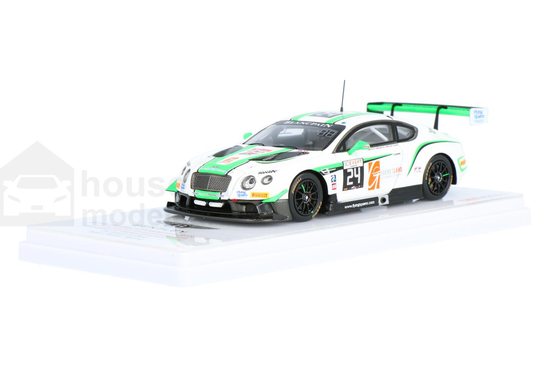Bentley Continental GT3 - Modelauto schaal 1:43