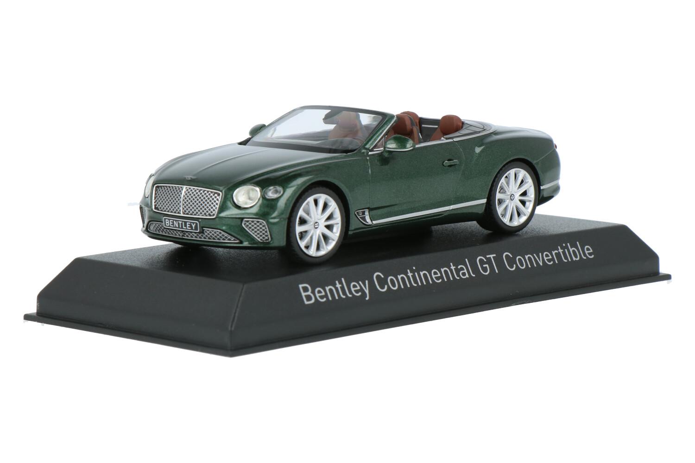 Bentley Continental GT Convertible - Modelauto schaal 1:43
