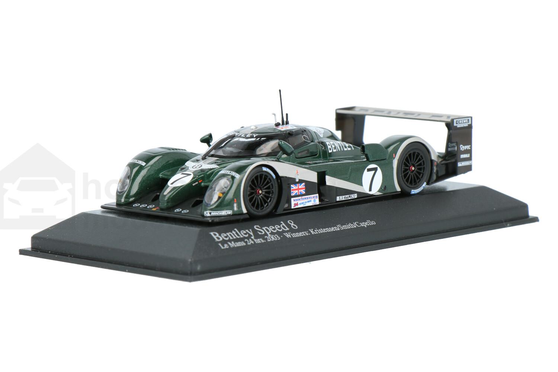 Bentley Speed 8 - Modelauto schaal 1:43