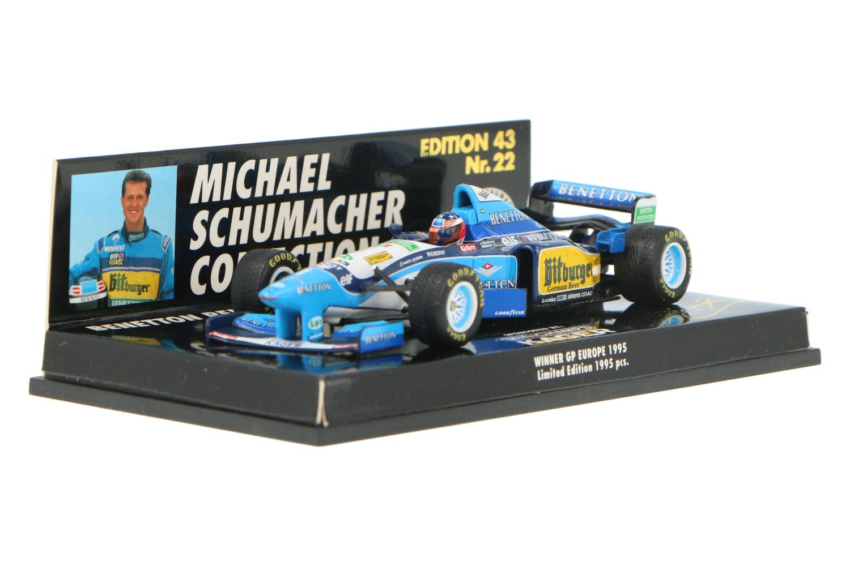 Benetton B195 - Modelauto schaal 1:43