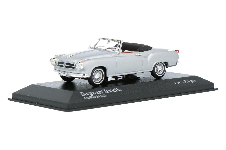 Borgward Isabella Coupé Cabriolet  - Modelauto schaal 1:43