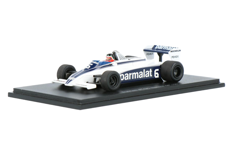 Brabham BT49C - Modelauto schaal 1:43