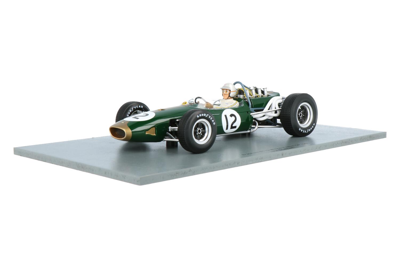 Brabham BT19 - Modelauto schaal 1:18