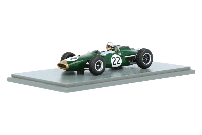 Brabham BT3 - Modelauto schaal 1:43