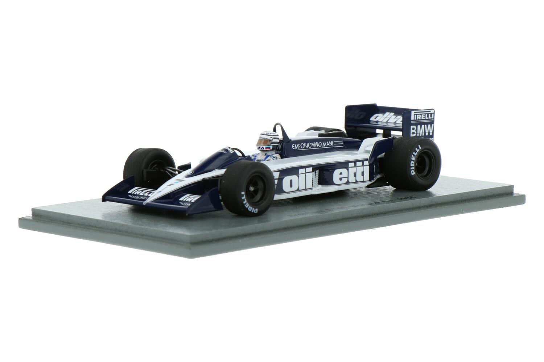 Brabham BT55 - Modelauto schaal 1:43