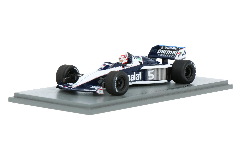 Brabham BT52B - Modelauto schaal 1:43