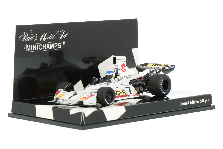 Brabham BT44 - Modelauto schaal 1:43