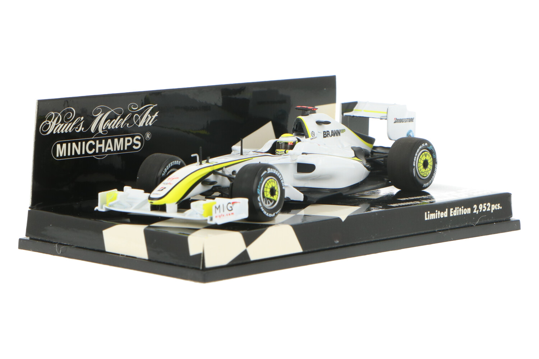 Brawn GP BGP001 - Modelauto schaal 1:43
