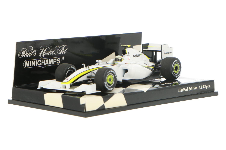 Brawn GP Showcar - Modelauto schaal 1:43