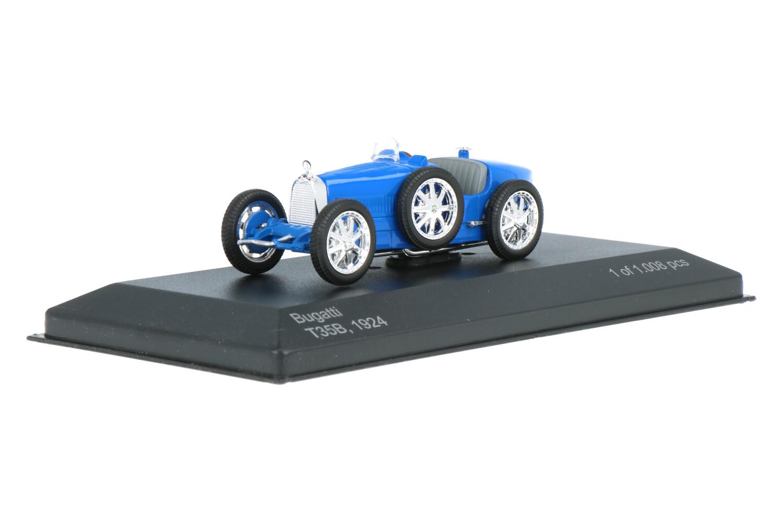 Bugatti T35B - Modelauto schaal 1:43
