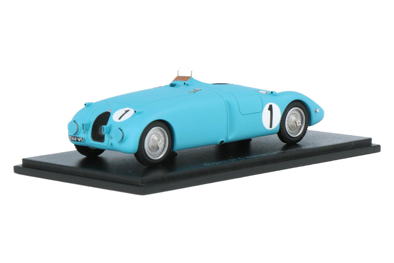 Bugatti 57S Tank - Modelauto schaal 1:43