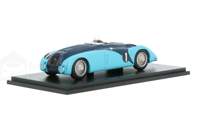 Bugatti 57G - Modelauto schaal 1:43