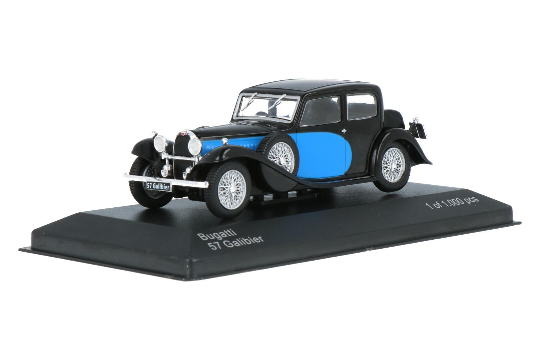 Bugatti 57 Galibier - Modelauto schaal 1:43