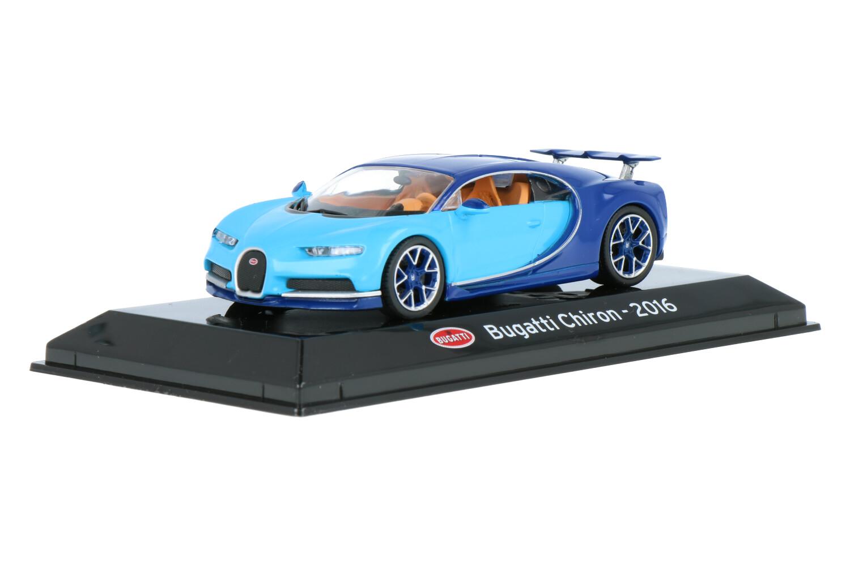 Bugatti Chiron - Modelauto schaal 1:43