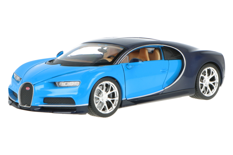 Bugatti Chiron - Modelauto schaal 1:24