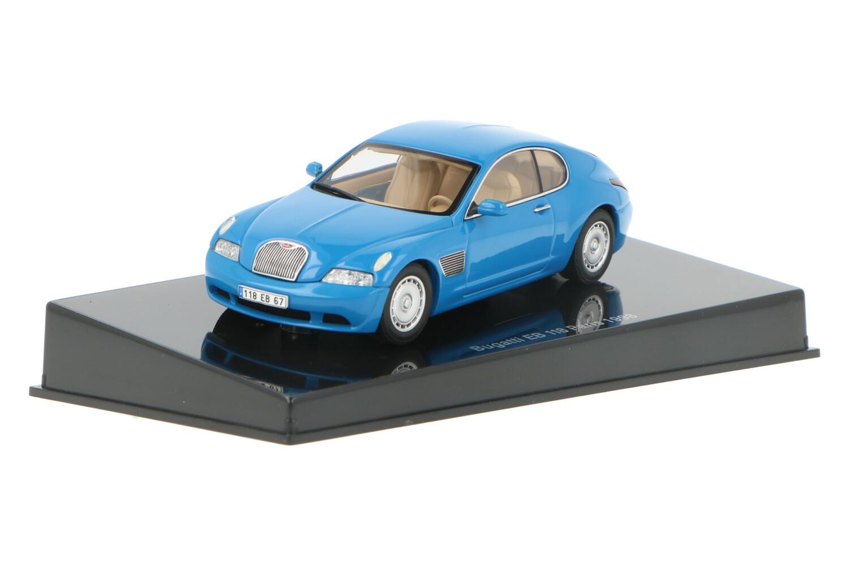 Bugatti EB 118 Paris  - Modelauto schaal 1:43