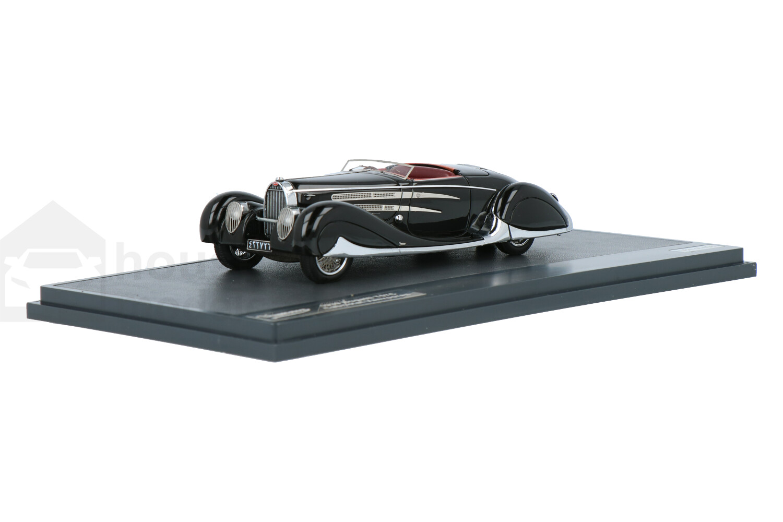 Bugatti T57C Cabriolet Vanvooren - Modelauto schaal 1:43