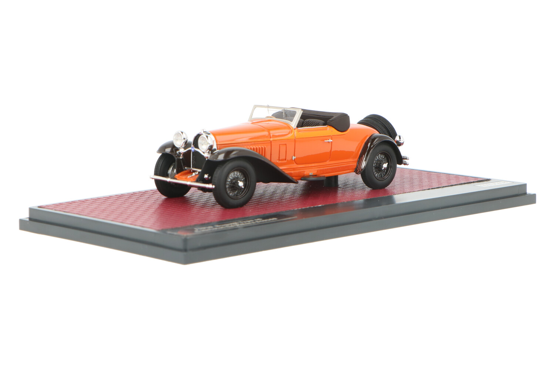 Bugatti Type 46 Cabriolet De Villars #46360 Open - Modelauto schaal 1:43
