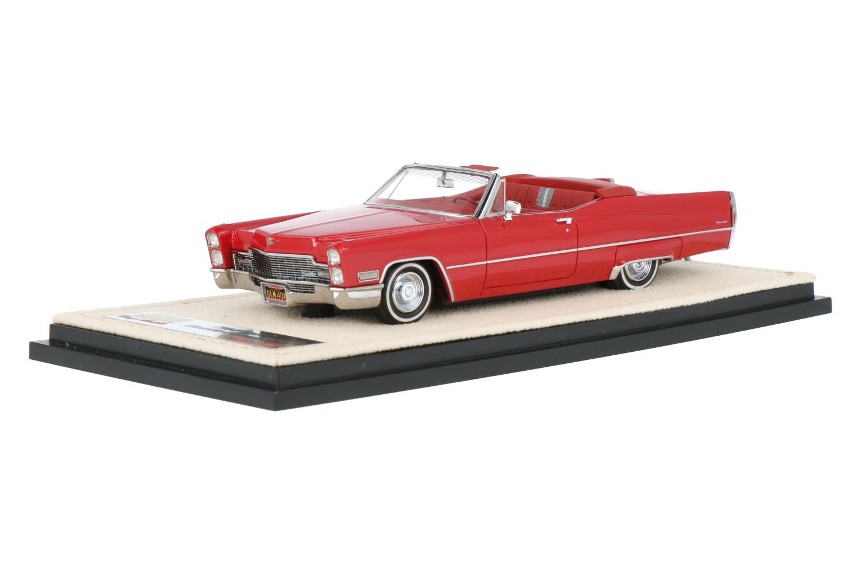Cadillac Deville Convertible - Modelauto schaal 1:43