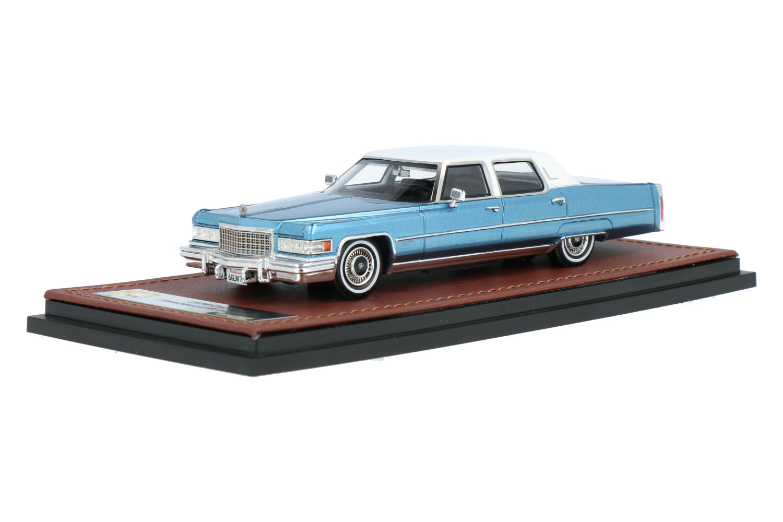 Cadillac Fleetwood Brougham - Modelauto schaal 1:43