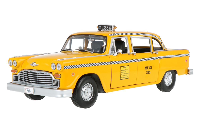 Checker Taxi - Modelauto schaal 1:18