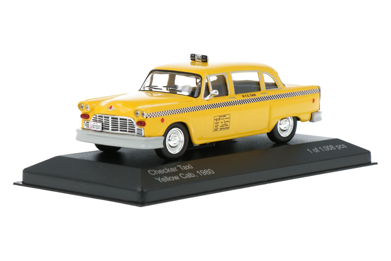 Checker Taxi Yellow Cab - Modelauto schaal 1:43