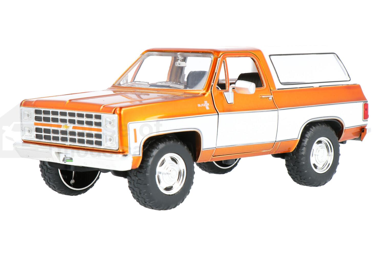 Chevrolet K5 Blazer - Modelauto schaal 1:24