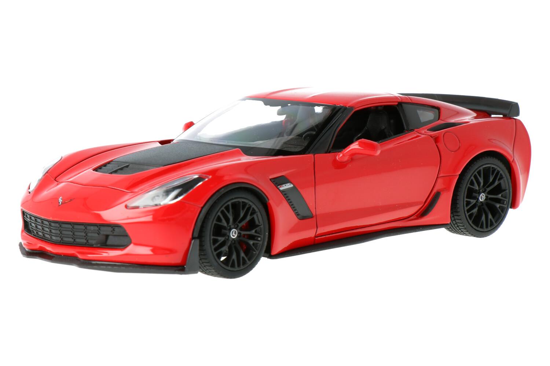 Chevrolet Corvette Z06 - Modelauto schaal 1:24